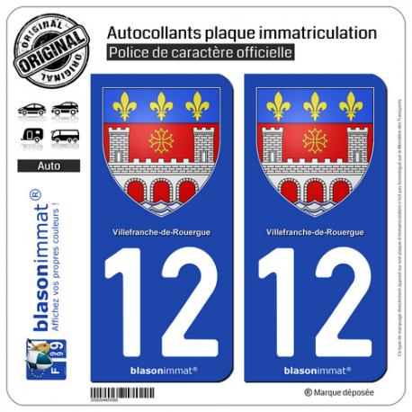 Autocollant immatriculation 12200 villefranche de rouergue for Garage rouergue auto 12