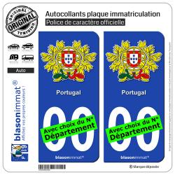 autocollant plaque immatriculation auto moto europe 4 blasonimmat. Black Bedroom Furniture Sets. Home Design Ideas