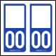 Option Choix du N° Département : 00 - (Double Zéro)
