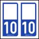 Option Choix du N° Département : 10 - (Aube)