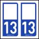 Option Choix du N° Département : 13 - (Bouches-du-Rhône)