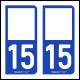 Option Choix du N° Département : 15 - (Cantal)