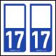 Option Choix du N° Département : 17 - (Charente-Maritime)