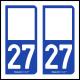 Option Choix du N° Département : 27 - (Eure)