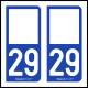Option Choix du N° Département : 29 - (Finistère)