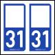 Option Choix du N° Département : 31 - (Haute-Garonne)