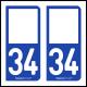 Option Choix du N° Département : 34 - (Hérault)