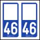 Option Choix du N° Département : 46 - (Lot)