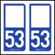 Option Choix du N° Département : 53 - (Mayenne)