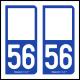 Option Choix du N° Département : 56 - (Morbihan)