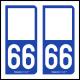 Option Choix du N° Département : 66 - (Pyrénées-Orientales)