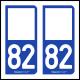 Option Choix du N° Département : 82 - (Tarn-et-Garonne)