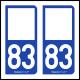Option Choix du N° Département : 83 - (Var)
