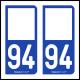 Option Choix du N° Département : 94 - (Val-de-Marne)