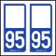 Option Choix du N° Département : 95 - (Val-d'Oise)