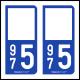 Option Choix du N° Département : 975 - (Saint-Pierre-et-Miquelon)