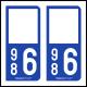 Option Choix du N° Département : 986 - (Wallis et Futuna)