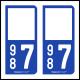 Option Choix du N° Département : 987 - (Polynésie Française)